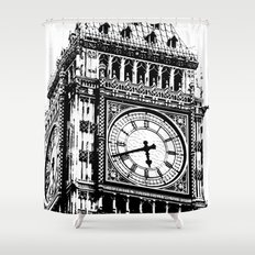 Big Ben 2 - London Series Shower Curtain