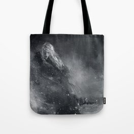 Finrod crossing the Helcaraxe Tote Bag