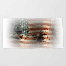 The Rise of a Nation Beach Towel
