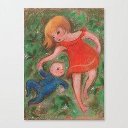 Matisse and Roman Canvas Print