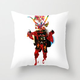 La Tirana Throw Pillow