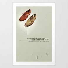 Them | Collage Art Print