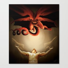 The Great Red Dragon Canvas Print