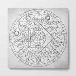 Hermetic Principles Metal Print