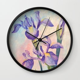 Angel Iris - Joyful Wall Clock