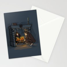 The Witch in the Fireplace Stationery Cards