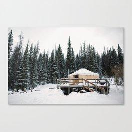 Yurt Life Canvas Print
