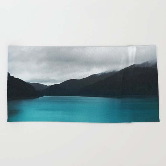 The Waters And The Wild Beach Towel