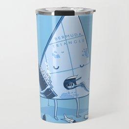 Bermuda triangle Travel Mug