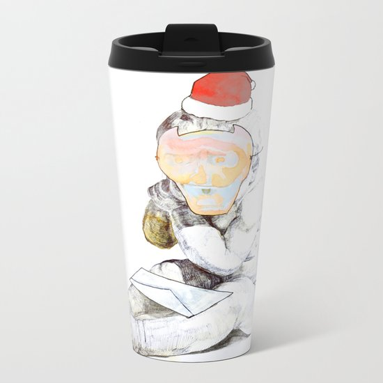 Aprés Noël Metal Travel Mug