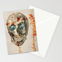 skull#04 Stationery Cards