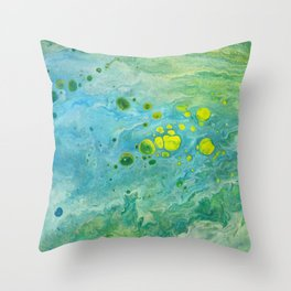The beach series Throw Pillow