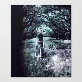 A scary unknown by GEN Z Canvas Print