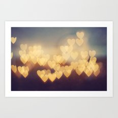 Bright New Love Art Print