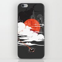 uncharted iPhone & iPod Skins featuring Uncharted Voyage by Marco Angeles