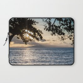 Sunrise Over the Bohol Sea Laptop Sleeve