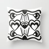 gatsby Throw Pillows featuring Gatsby Romance by AniNers