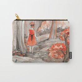 Deep in the fall forest Carry-All Pouch