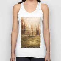 forrest gump Tank Tops featuring Forrest by Terri Ellis