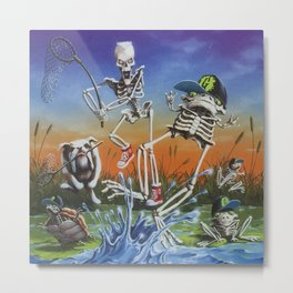 More & More Tales to Give You Goosebumps Metal Print