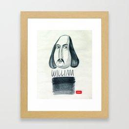 William (drawing) Framed Art Print
