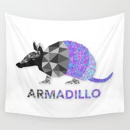 Angular Armadillo Wall Tapestry