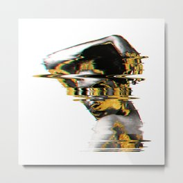 Fazed Out Metal Print