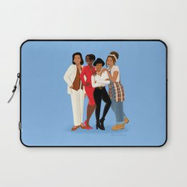 Living Single / Khadijah, Max, Regine & Synclaire Laptop Sleeve
