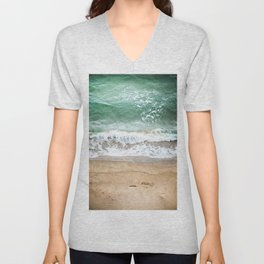Beachy Unisex V-Neck