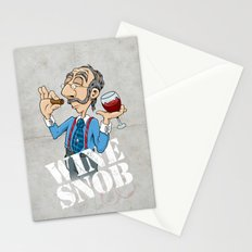 Wine Snob Stationery Cards