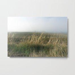 Under the Tuscan Fog 1 Metal Print