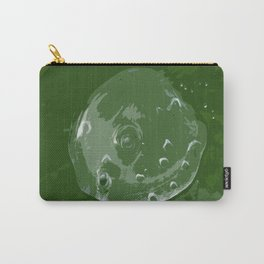 Waterdrop on Green Carry-All Pouch