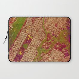 Central Park New York, old map, vintage old map, mapa antiguo, american map Laptop Sleeve