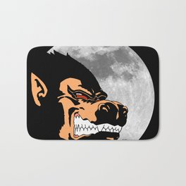 Night Monkey Bath Mat