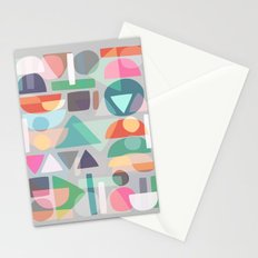 Pastel Geometry 2 Stationery Cards