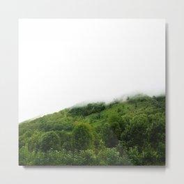 Les monts brumeux Metal Print