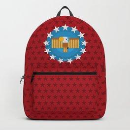 American (Red) Backpack