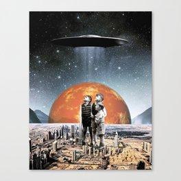 Sighting Canvas Print