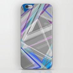 ∆Blue iPhone & iPod Skin