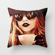 Comfortable Silences - in color Throw Pillow