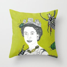 Queen Painting Throw Pillow