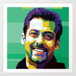 Salman Khan Art Art Print