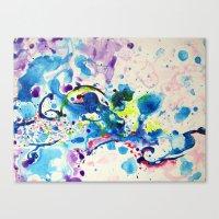 fairies Canvas Prints featuring Fairies by Pajaritaflora
