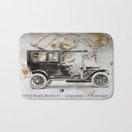 1910 Buick Limousine Bath Mat