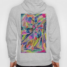 Fluorite Thin Section Watercolor Hoody