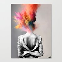 Canvas Prints featuring a certain kind of magic by LouiJoverArt