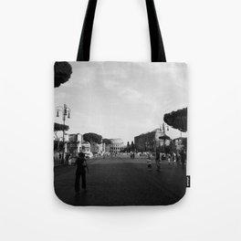 all roads lead to rome Tote Bag