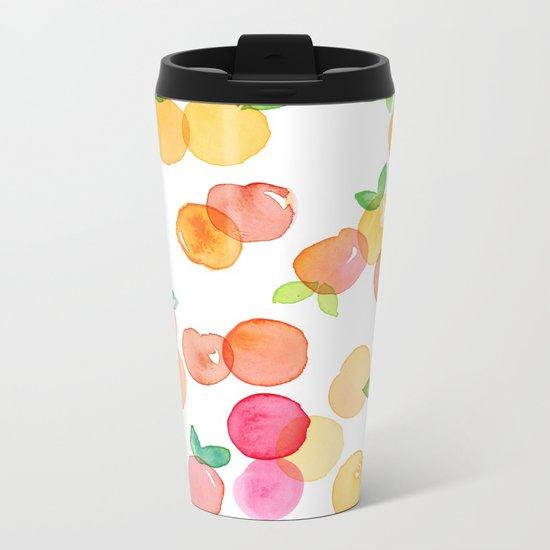 Peachy Metal Travel Mug