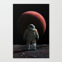 Cosmonaut Canvas Print