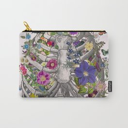 Ribs and flowers Carry-All Pouch